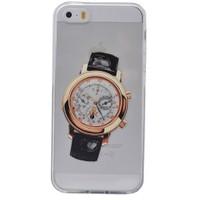 Teleplus İphone 6S Plus Saat Desenli Silikon Kılıf 1