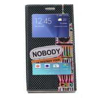 Teleplus Samsung Galaxy J5 Çift Pencereli Desenli Kılıf Dreams
