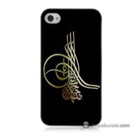 Teknomeg İphone 4S Kılıf Kapak Tuğra Osmanlı Baskılı Silikon