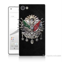 Teknomeg Sony Xperia Z5 Premium Osmanlı Baskılı Silikon Kılıf