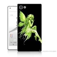 Teknomeg Sony Xperia Z5 Premium Peri Kızı Baskılı Silikon Kılıf