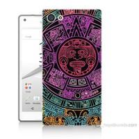 Teknomeg Sony Xperia Z5 Premium Mayalar Baskılı Silikon Kılıf