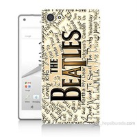 Teknomeg Sony Xperia Z5 Premium The Beatles Baskılı Silikon Kılıf