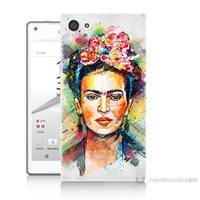 Teknomeg Sony Xperia Z5 Premium Frida Baskılı Silikon Kılıf