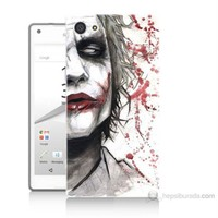 Teknomeg Sony Xperia Z5 Premium Kanlı Joker Baskılı Silikon Kılıf
