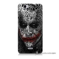 Teknomeg Casper Via V5 Kapak Kılıf Joker Baskılı Silikon