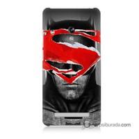 Teknomeg Asus Zenfone 5 Kapak Kılıf Batman Vs Superman Baskılı Silikon