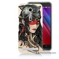 Teknomeg Asus Zenfone Laser 5.0 Kapak Kılıf Pocahontas Baskılı Silikon