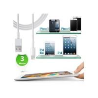 Practika iPhone İpad Usb Şarj Ve Data Kablosu (3 Metre)