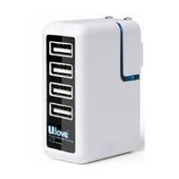 Ulove UAD06 -2000mA 4 USB port Şarj Cihazı - UAD06