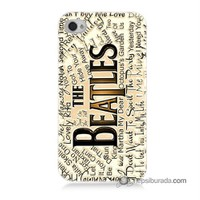 Teknomeg İphone 4S Kılıf Kapak The Beatles Baskılı Silikon