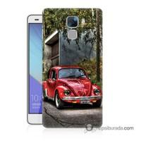 Teknomeg Huawei Honor 7 Kapak Kılıf Volkswagen Baskılı Silikon