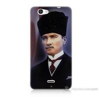 Teknomeg Casper Via V8C Mustafa Kemal Atatürk Baskılı Silikon Kılıf