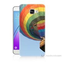 Teknomeg Samsung Galaxy A5 2016 Kapak Kılıf Uçan Balon Baskılı Silikon