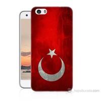 Teknomeg Vestel Venüs V3 5570 Türkiye Bayrağı Baskılı Silikon Kılıf