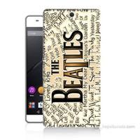 Teknomeg Sony Xperia C5 The Beatles Baskılı Silikon Kılıf