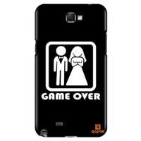 Qapak Samsung Galaxy Note 2 Baskılı İnce Kapak uz244434011114