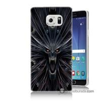 Teknomeg Samsung Galaxy Note 5 Kılıf Kapak Korku Canavarı Baskılı Silikon