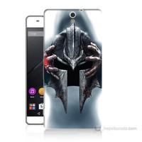 Teknomeg Sony Xperia C5 Assassins Creed Baskılı Silikon Kılıf