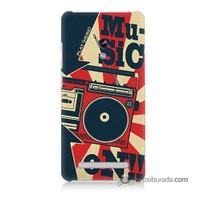Teknomeg Asus Zenfone 6 Kapak Kılıf Müzik Baskılı Silikon
