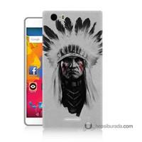 Teknomeg Casper Via M1 Kılıf Kapak Geronimo Baskılı Silikon