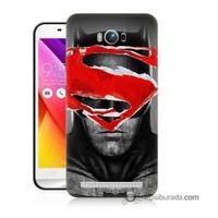 Teknomeg Asus Zenfone Max Kapak Kılıf Batman Vs Superman Baskılı Silikon