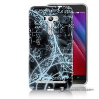 Teknomeg Asus Zenfone Selfie Kapak Kılıf Matematik Baskılı Silikon