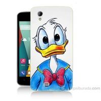 Teknomeg General Mobile Discovery 2 Mini Donald Duck Baskılı Silikon Kapak Kılıf
