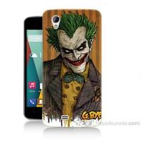 Teknomeg General Mobile Discovery 2 Mini Joker Baskılı Silikon Kapak Kılıf
