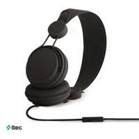 Ttec Bubbles Mikrofonlu Kulaküstü Kulaklık Siyah 2KM8002