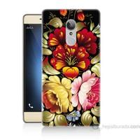 Teknomeg Türk Telekom Tt175 Çiçekler Baskılı Silikon Kapak Kılıf