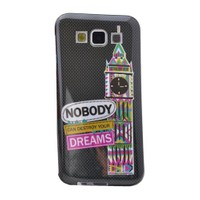 Teleplus Samsung Galaxy A8 Desenli Silikon Kılıf Dreams