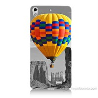 Teknomeg General Mobile Discovery Air Renkli Uçan Balon Baskılı Silikon Kılıf