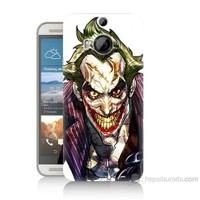 Teknomeg Htc One M9 Plus Joker Baskılı Silikon Kılıf