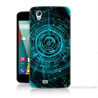 Teknomeg General Mobile Discovery 2 Mini Asit Baskılı Silikon Kılıf