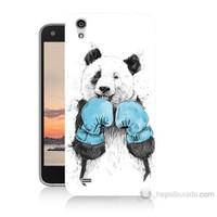 Teknomeg Vestel Venüs V3 5040 Boksör Panda Baskılı Silikon Kılıf