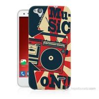 Teknomeg Turkcell T60 Müzik Baskılı Silikon Kılıf