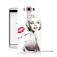 Teknomeg Lg V10 Kapak Kılıf Marilyn Monroe Baskılı Silikon