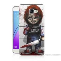Teknomeg Samsung Galaxy A3 2016 Kapak Kılıf Chaki Baskılı Silikon