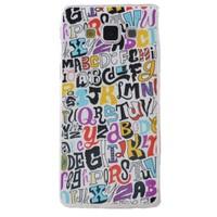 Teleplus Samsung Galaxy A8 Desenli Silikon Kılıf Yazı