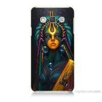 Teknomeg Samsung Galaxy A3 Kapak Kılıf İllustrations Resim Baskılı Silikon