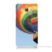 Teknomeg Samsung Galaxy A3 Kapak Kılıf Uçan Balon Baskılı Silikon