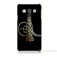 Teknomeg Samsung Galaxy A7 Tuğra Osmanlı Baskılı Silikon Kılıf