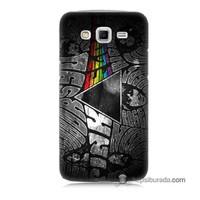 Teknomeg Samsung Galaxy Grand 2 Kapak Kılıf Pink Floyd Baskılı Silikon