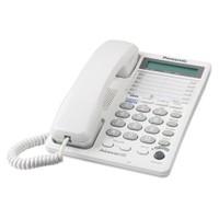 Panasonic Masa Telefonu Beyaz - Çift Hatlı Kx Ts208