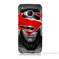 Teknomeg Htc One M9 Batman Vs Superman Baskılı Silikon Kılıf