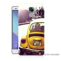Teknomeg Huawei Honor 7 Kılıf Kapak Volkswagen Baskılı Silikon