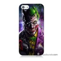 Teknomeg İphone 5S Kılıf Kapak Batman Vs Joker Baskılı Silikon