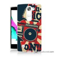 Teknomeg Lg G4c Kapak Kılıf Müzik Baskılı Silikon