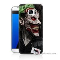 Teknomeg Samsung Galaxy S7 Edge Kapak Kılıf Joker Joe Baskılı Silikon